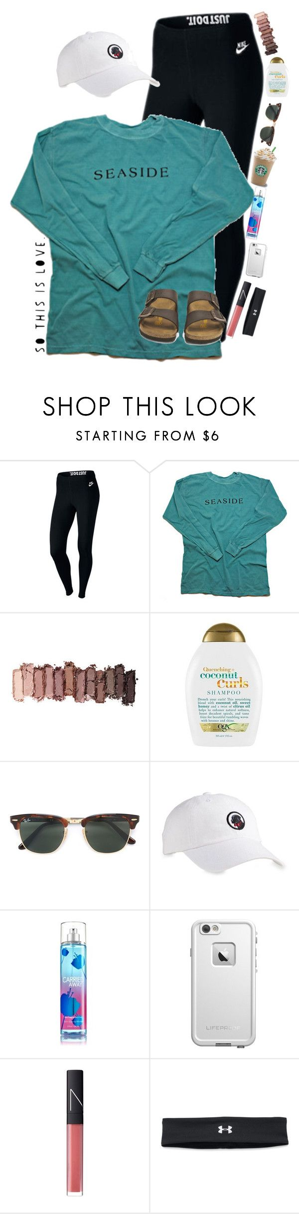 """""""•I am a lost boy from never land•"""" by lacrosse-19 ❤ liked on Polyvore featuring NIKE, Urban Decay, Organix, Ray-Ban, Southern Proper, LifeProof, NARS Cosmetics, Under Armour and Birkenstock"""