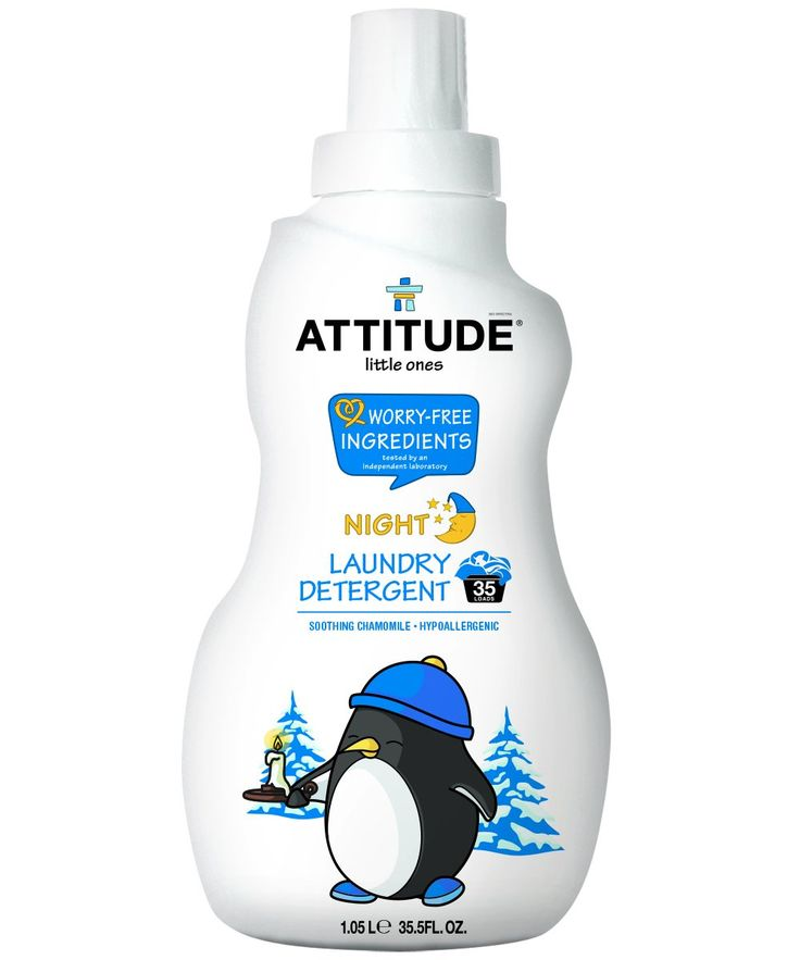 Attitude laundry detergent night time 35 loads soothing