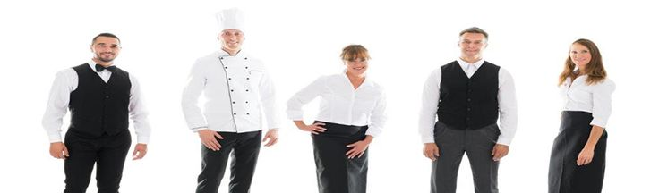 Hospitality wear, hospitality clothing