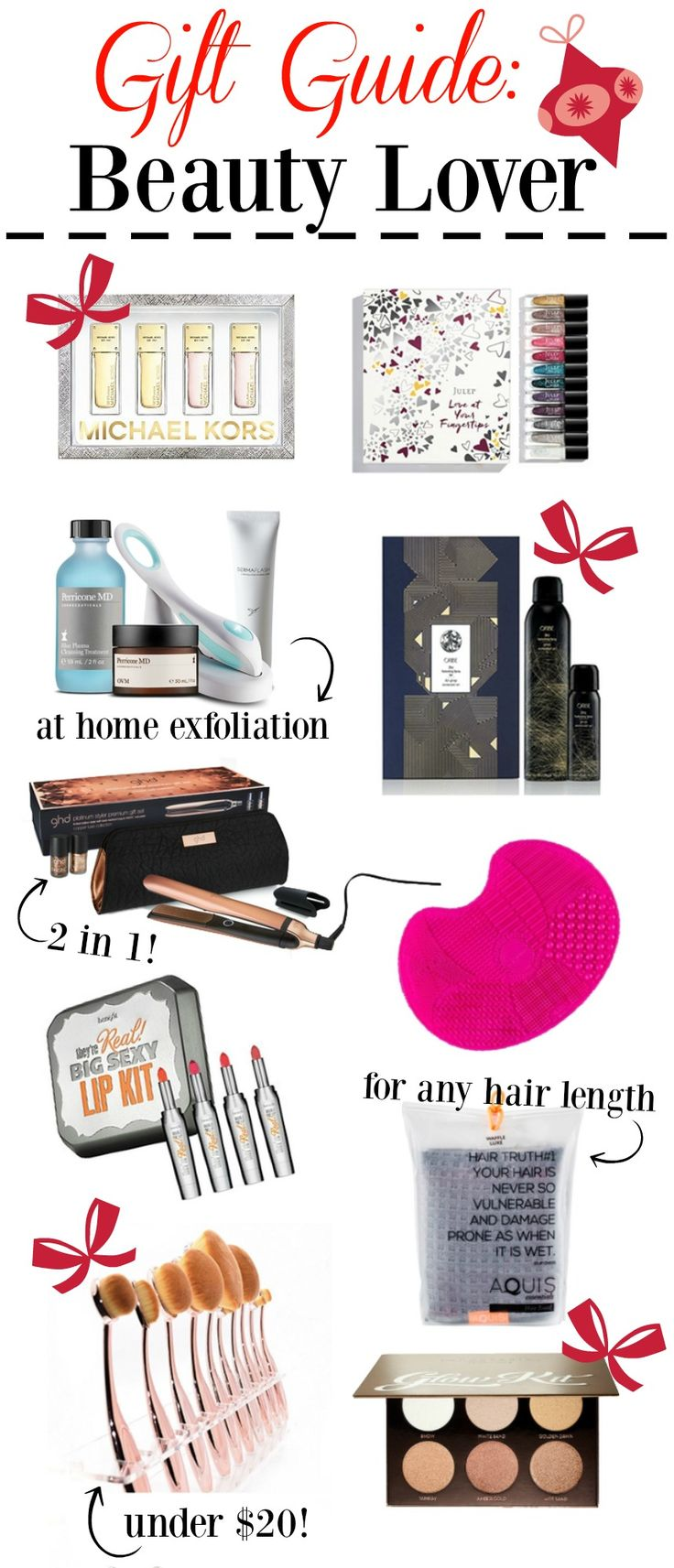 Holiday Gift Guide for her | Gift ideas for her | Gift Ideas for the Beauty lover | Christmas gift ideas | Uptown with Elly Brown