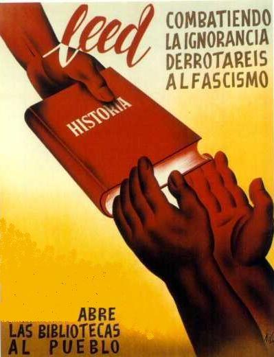 #Antifascismo #CartelesGuerraCivil