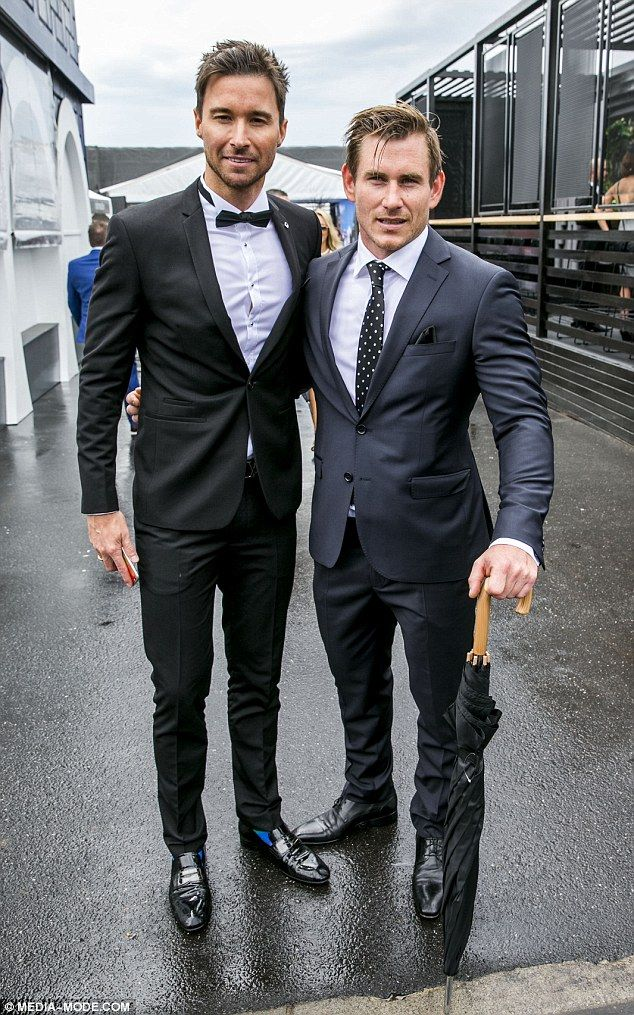 Dapper duo! After being dumped by the same woman, The Bachelorette's Michael Turnbull and ...