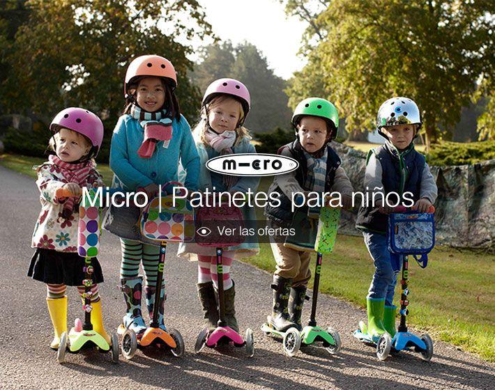 Patinetes y accesorios para niños y adultos, así como scooters para la práctica del freestyle. http://www.deporvillage.com/patinetes