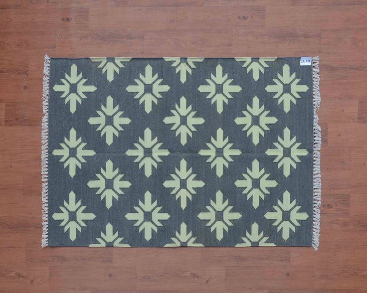 Excited to share the latest addition to my #etsy shop: Grey Geometric Dhurrie Rug, 3x5, Bohemian Rugs, Southwestern Rug, Ethnic, Persian Cotton Rug, Kilim, Moroccan Tribal Rug, CD-245 http://etsy.me/2nf7AZn #housewares #grey #rectangle #yellow #geometric #contemporary