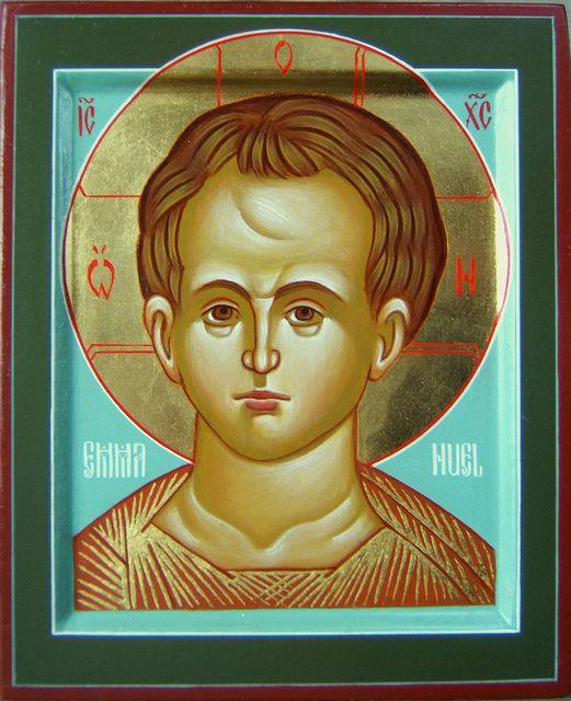 2009-2011 Icône du Christ Emmanuel - Christ Emmanuel Icon (main de / hand of : Michèle Lévesque) | Flickr - Photo Sharing!