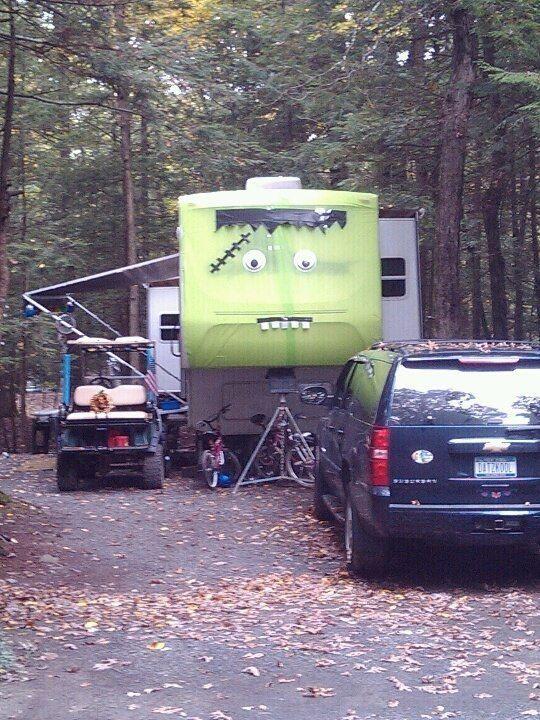 best 25 halloween camping decorations ideas on pinterest