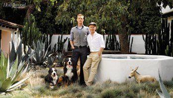 Ryan Murphy With Husband David Miller