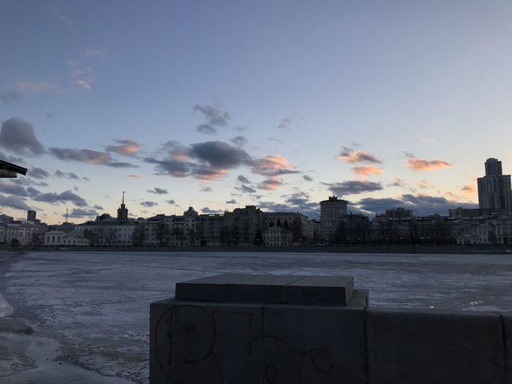 Екатеринбург.Плотинка.Весна.Моё.