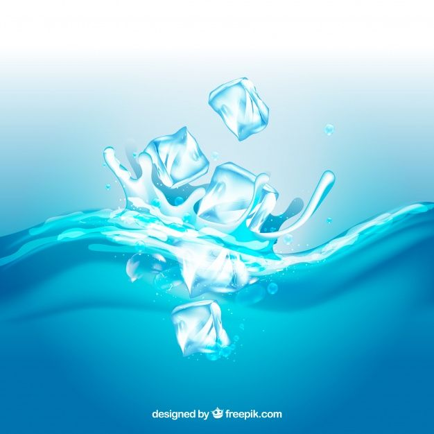 download realistic background with ice cubes and splashing water for free vector free realistic background ice cubes and splashing water
