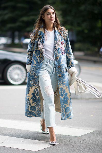 Patricia Manfield seen during Milan Fashion Week Spring/Summer 2017 on September 22 2016 in Milan Italy