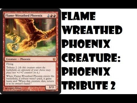 Flame Wreathed Phoenix Born of the Gods Spoilers Mythic Phoenix (+playlist)