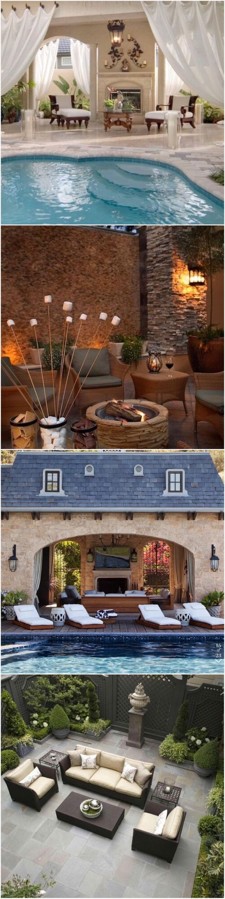 2442 best outdoor living images on pinterest pools outdoor