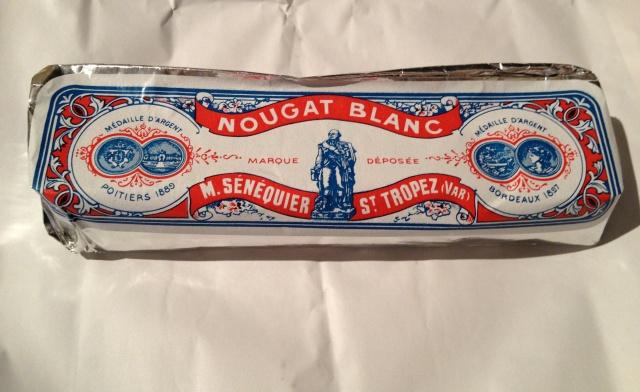 LE NOUGAT BLANC DE SÉNÉQUIER. Eric Ripert comment this is the best nougat ever. Good enough for him will be good enough for me!
