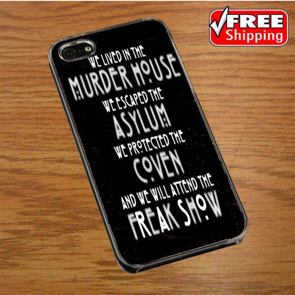 American horror story asylum IPHONE 4 | 4S COVER CASE