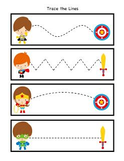 Preschool Printables: Little Super Heroes to the Rescue
