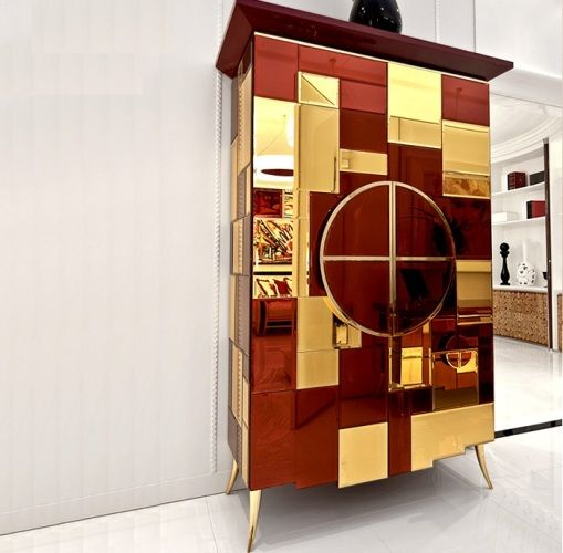 See more @ http://www.bykoket.com/inspirations/interior-and-decor/modern-cabinets-luxury-home