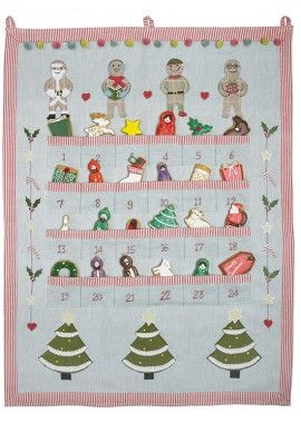 limited edition clot advent calendar biscuiteers - delicious hand iced biccies to order on line - say it with icing