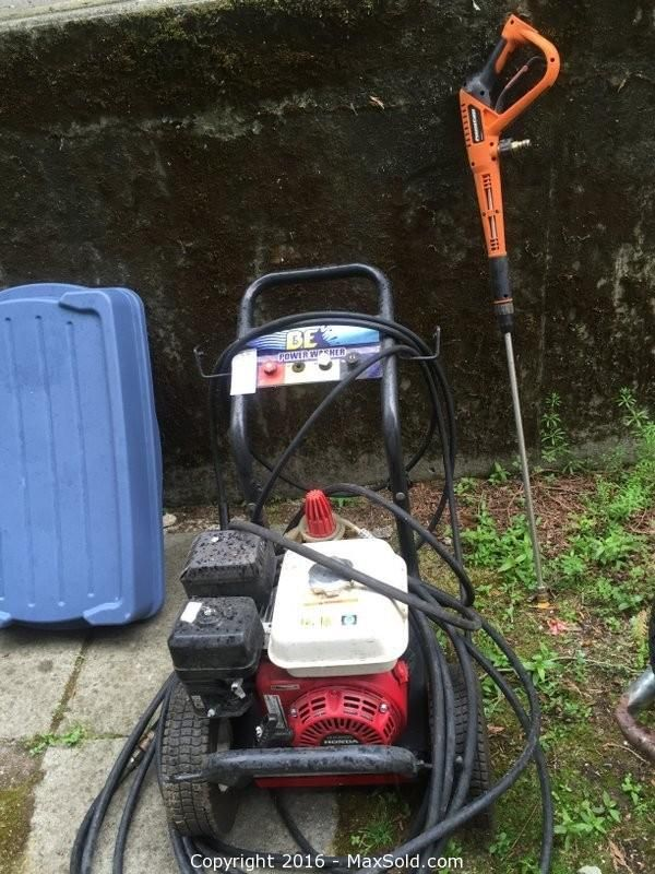 Honda Pressure Washer Sold on MaxSold for $475