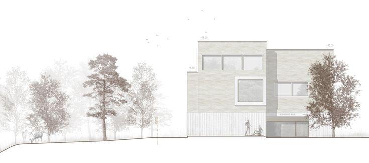 raumfindung Architekten . District Court Extension . Meilen (12)