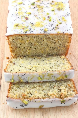 Lemon Pistachio & Poppy Seed Loaf