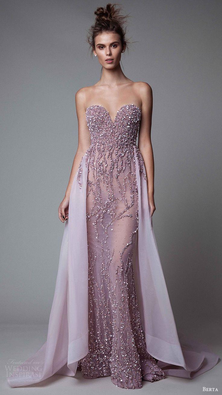 berta rtw fall 2017 (17 12) illusion strapless sweetheart sheath beaded evening dress with overskirt mv