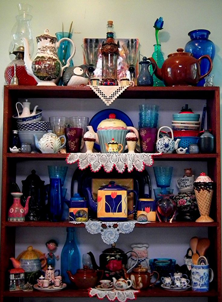 Teapots and others collection.