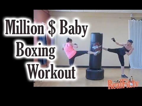 45 minute heavy bag free online workout routine: full body