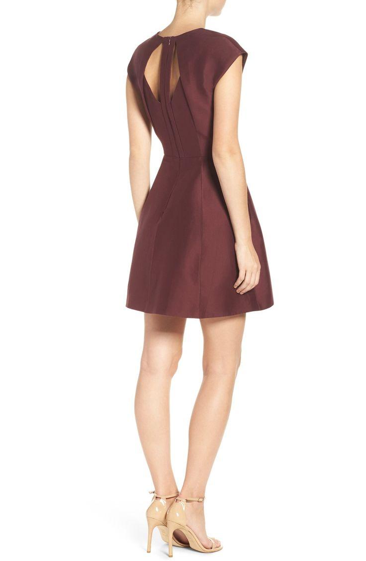 Halston Organic Cotton & Silk Dress