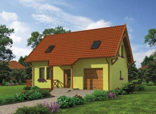 """""""Katania"""" To przytulny rodzinny domek, który mimo niepozornego wyglądu ma bardzo wiele do zaoferowania. Na zewnątrz domek ten prezentuje się naprawdę wspaniale, co jest dopiero zapowiedzią tego co oferuje jego wnętrze"""