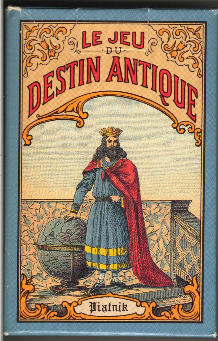 Ancient game of destiny 32 fortune telling cards with