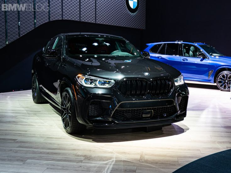 2019 La Auto Show Bmw X6 M Competition Looks Stunning In 2020 Bmw X6 Bmw Bmw X6 Black