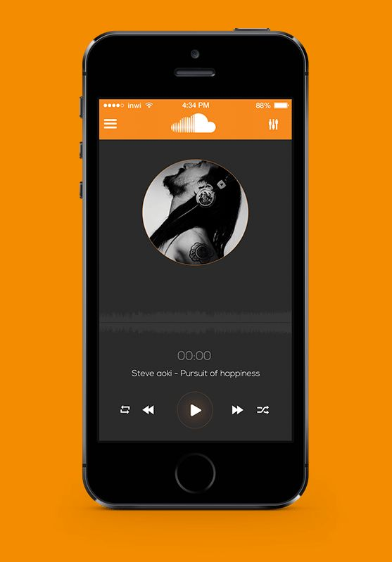 Soundcloud iOS Redesign on Behance