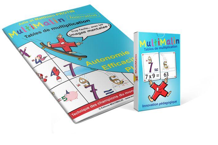 1000 id es sur le th me l 39 apprentissage des tables de for Methode facile pour apprendre les multiplications