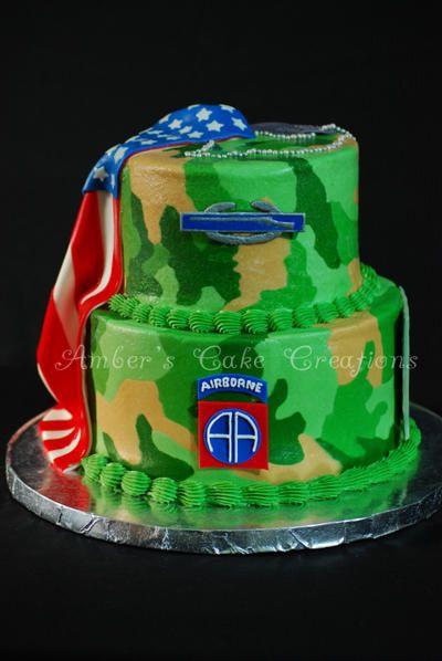 82nd Airborne Cake Cakes Army Cake Cake Birthday Cake