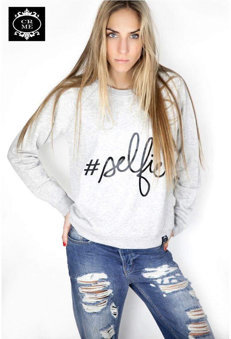 ¿Quién no quiere un #selfie? #sweater #sudaderas en: http://vbinspiration.com/