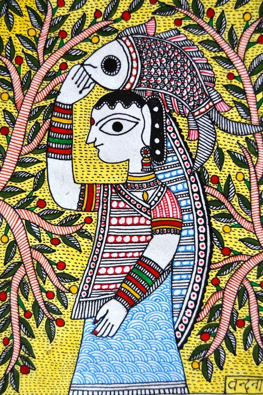Design Resource - Madhubani paintings of Bihar -Products-15
