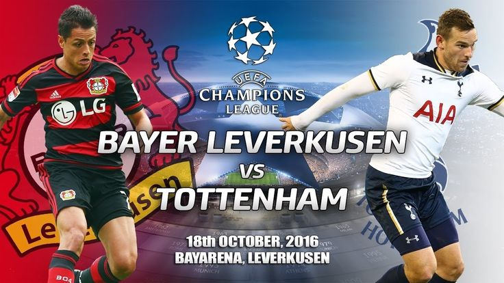 Bayer Leverkusen vs Tottenham 0-0 All Goals & Highlights  UEFA Champions League 18/10/2016  Bayer Leverkusen vs Tottenham 0-0 All Goals & Highlights 18/10/2016  -----------------------------------------   Like  Share  Comment on Video  Thanks for Watching!   Please help channel reached 100000 subscribe