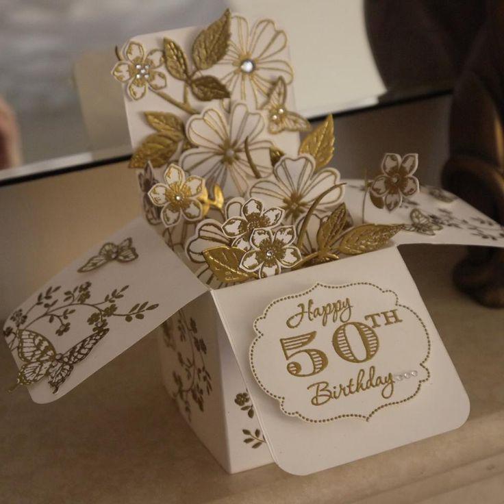 Such a beautiful card in a box