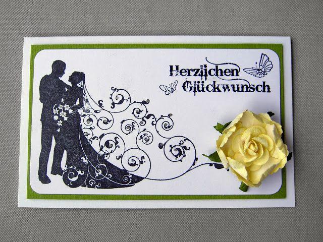 Bröllopskort på tyska - Wedding card in German