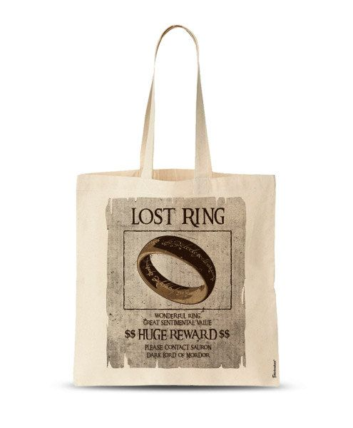 FREE SHIPPING Lord of the Rings funny Tote graphic by store365