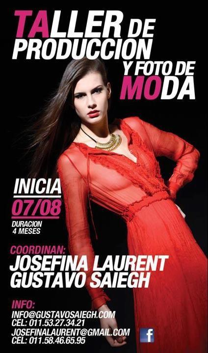 Taller de Producción y Fotos de Moda  Modelo: Florencia Dieminger  Agencia: Civiles Management