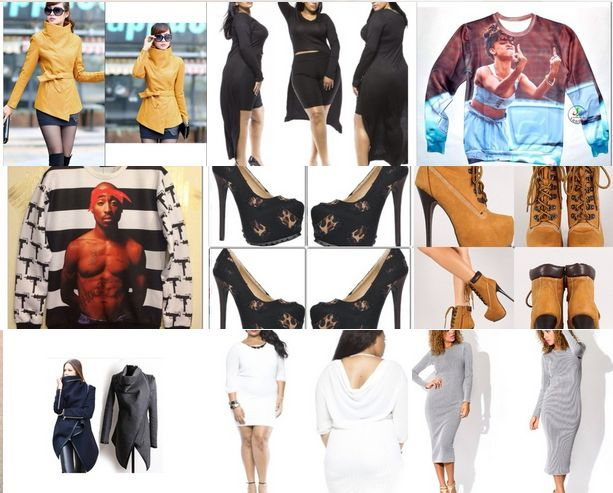 Sophista Glam Is based in South Chicago Heights, IL and sells urban outfits for women.