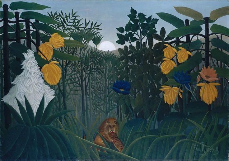 Анри Руссо (Франция, Лаваль 1844-1910 Париж) - Трапеза Льва. часть 2 Музей Метрополитен