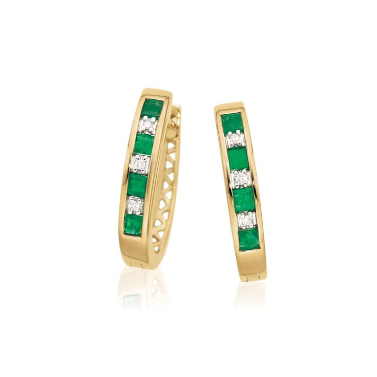 Gorgeous Emeralds are the birthstone for the month of May. Said to signify rebirth and love, Emeralds are among the world's rarest gemstones.