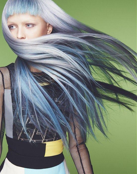 Long Grey Hairstyles
