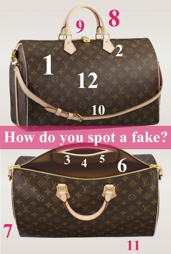 How To Spot A Fake Louis Vuitton   HipSwap Blog