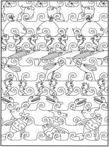 51 best images about poisson on pinterest un activity for Bocal mural poisson