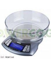 Báscula digital de peso preciso. Pesa hasta un máximo de  2 kg con una precisión de 0,1 gr.