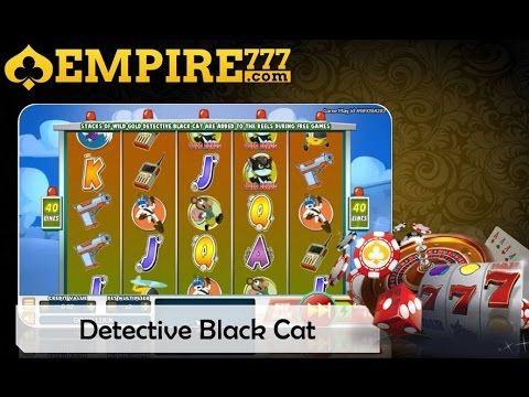 Detective Black Cat Slot - Try the Online Game for Free Now