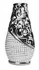 EUR 17,99 - Keramik Vase silber chrom - http://www.wowdestages.de/eur-1799-keramik-vase-silber-chrom/